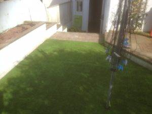 new garden turf