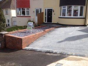 new slate driveway