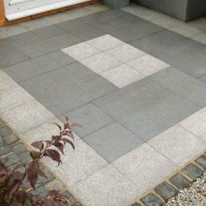 new paving slabs