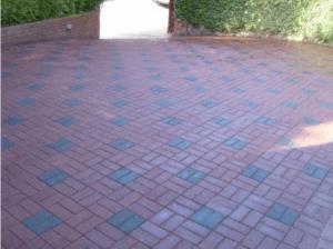 new paved driveway