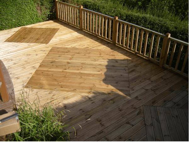 new garden decking