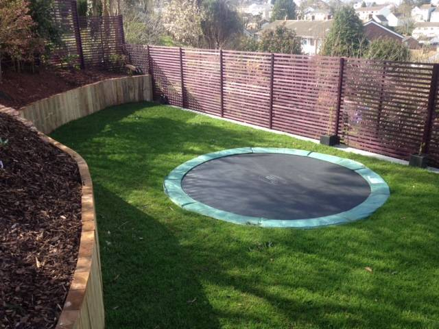 Decked, turfed and Fenced Rear Garden 3