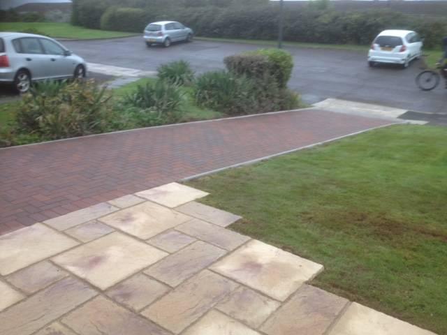 Block paving path 2