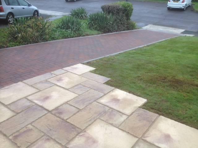 Block paving path 3