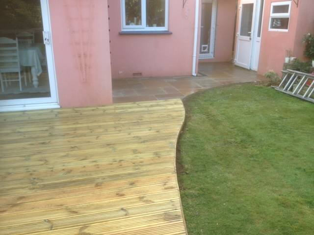 Patio and Decking Rear Garden 2