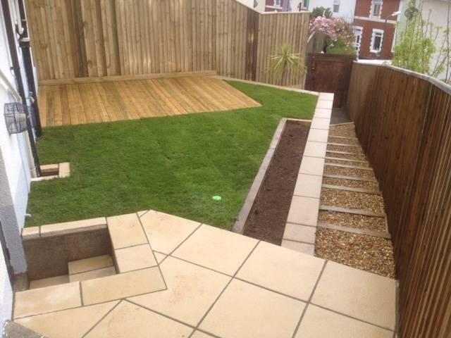 Landscaped rear garden 2