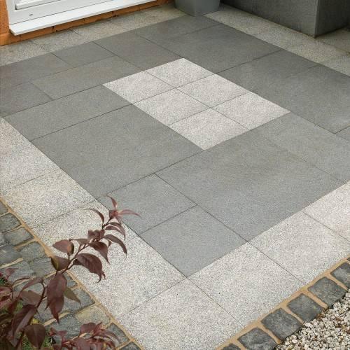 Designer patio area